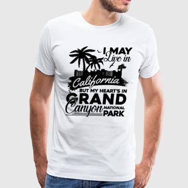 My Heart Is In Grand Canyon Shirt - Men's Premium T-Shirt