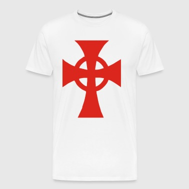 Celtic Irish Cross - Men's Premium T-Shirt