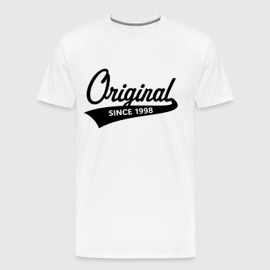 Original Since 1998 (Year Of Birth, Birthday, 1C) - Men's Premium T-Shirt