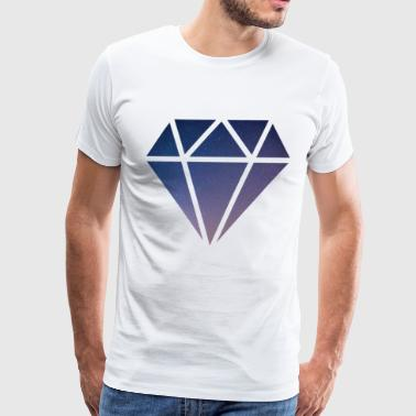 Space Diamond - Men's Premium T-Shirt