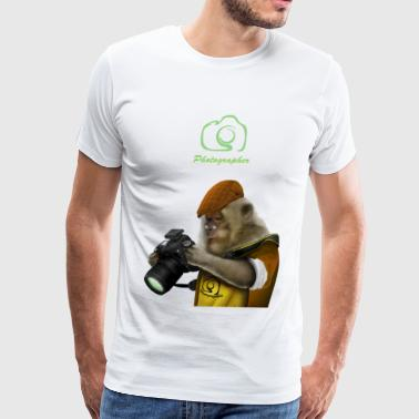 Photography Monkey - Men's Premium T-Shirt
