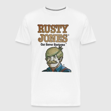 Rusty Jones Rust Prevention HiFi - Men's Premium T-Shirt