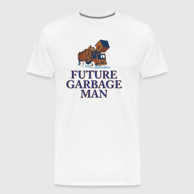 Future Garbage Man - Men's Premium T-Shirt
