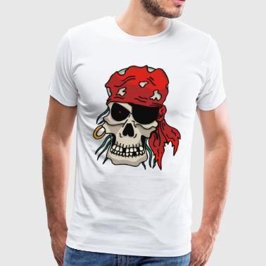 Pirate Skull - Men's Premium T-Shirt