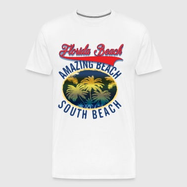 Florida south beach - Men's Premium T-Shirt
