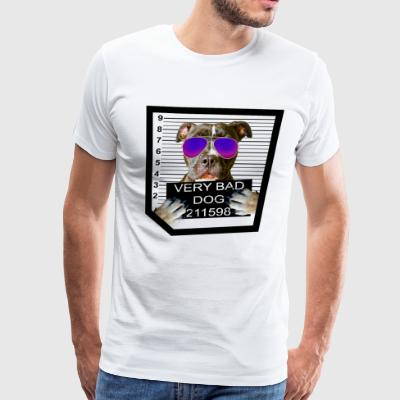 Bad Dog Pitbull - Men's Premium T-Shirt