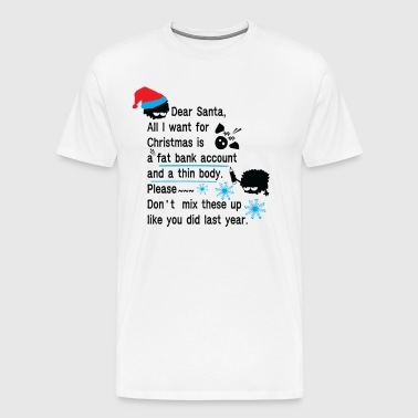 Funny new year resolutions - Men's Premium T-Shirt