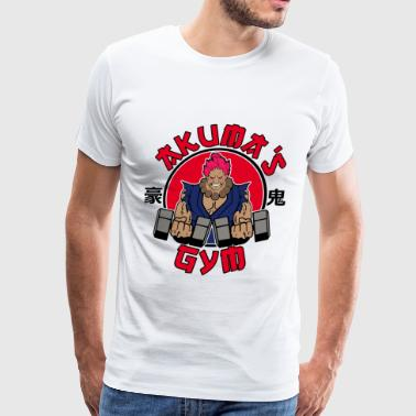 Akuma 039 s gym - Men's Premium T-Shirt