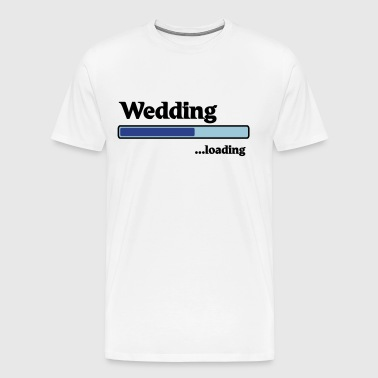 Wedding loading - Men's Premium T-Shirt