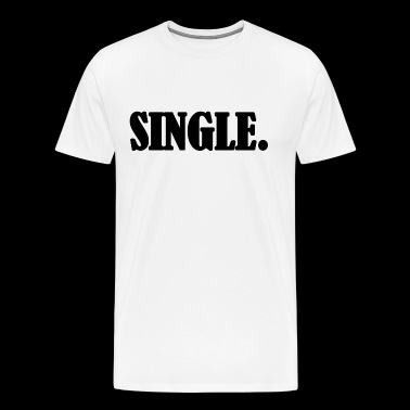 Single Black Word - Men's Premium T-Shirt