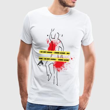 crime scene - Men's Premium T-Shirt