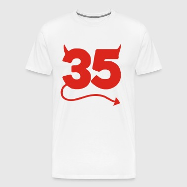 35th Birthday Funny - Men's Premium T-Shirt