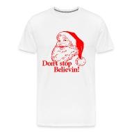 Santa Christmas Believe   Menu0026#39;s Premium ...
