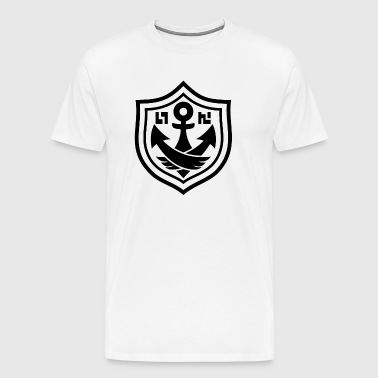 splatoon anchor black - Men's Premium T-Shirt