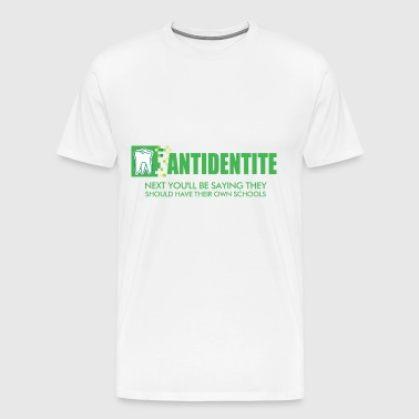 Antidentite kramer - Men's Premium T-Shirt