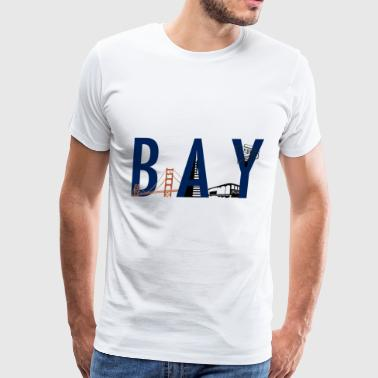 Bay Area Landmarks - Men's Premium T-Shirt
