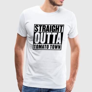 STRAIGHT OUTTA TOMATO TOWN - Men's Premium T-Shirt
