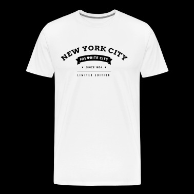 Favorite City New York City - Men's Premium T-Shirt