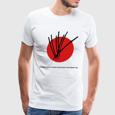 7 Samurai - Movie Quote - Men's Premium T-Shirt