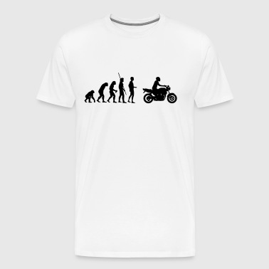 Evolution motorcycle Naked Bike - Men's Premium T-Shirt