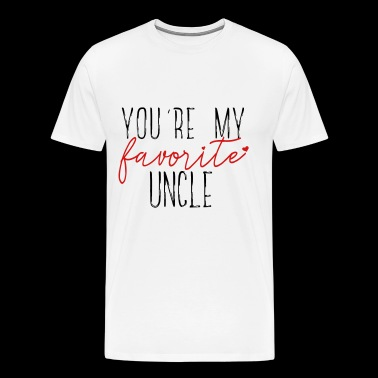 Favorite Uncle - Men's Premium T-Shirt