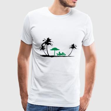 Beach holidays - Men's Premium T-Shirt