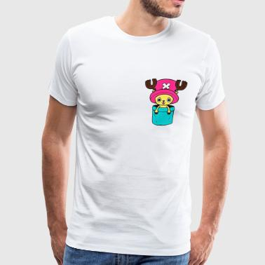 Chopper in a pocket - Men's Premium T-Shirt
