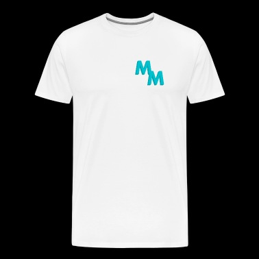 Mack Merch Blue Logo Clothes - Men's Premium T-Shirt