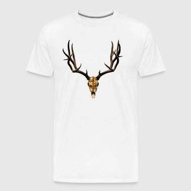 Metal Mule Deer - Men's Premium T-Shirt