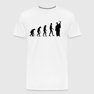 Evolution Student Diploma - Men's Premium T-Shirt