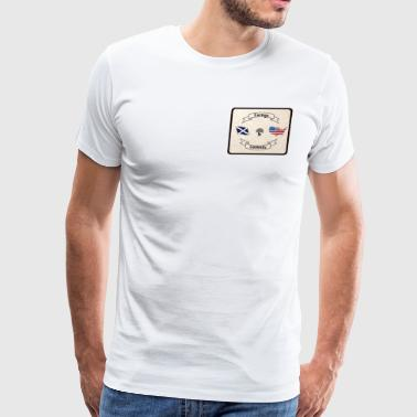 Foreign And Domestic - Men's Premium T-Shirt