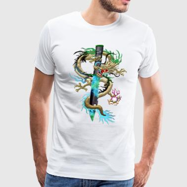 M9 Gamma Doppler Dragon - Men's Premium T-Shirt