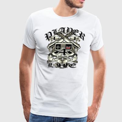 Player 4 Life - Men's Premium T-Shirt