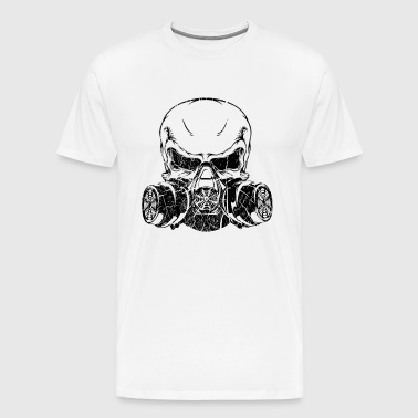 black skull mask - Men's Premium T-Shirt