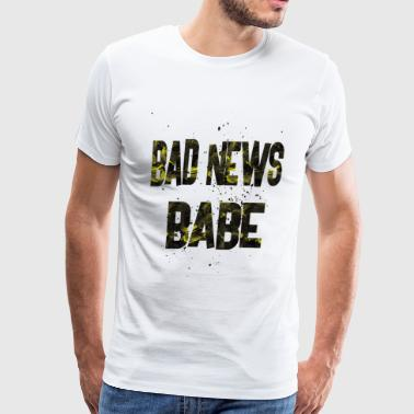 bad news babe 1 - Men's Premium T-Shirt
