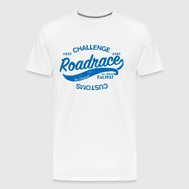 Road race - Men's Premium T-Shirt