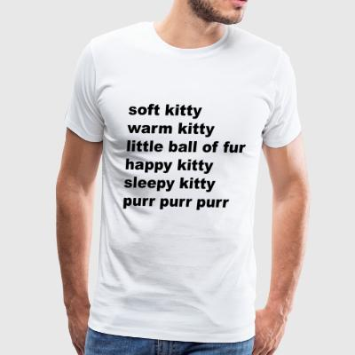 Soft Kitty - Men's Premium T-Shirt