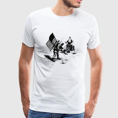 Moon landing - Men's Premium T-Shirt