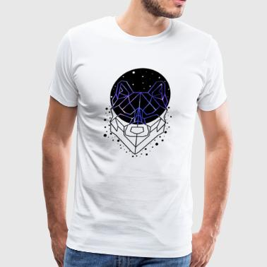 GEOMETRIC WOLF - Men's Premium T-Shirt