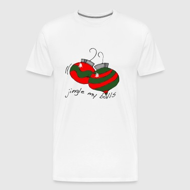 jingle balls - Men's Premium T-Shirt