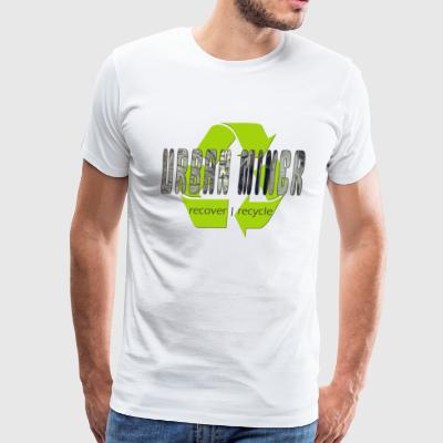 Urban miner - Men's Premium T-Shirt