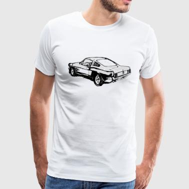 1970 Ford Mustang - Men's Premium T-Shirt