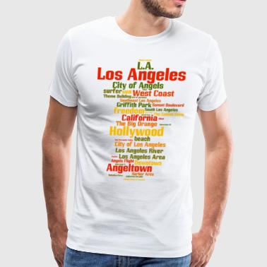 Los Angeles (L.A. Angeltown) - Men's Premium T-Shirt