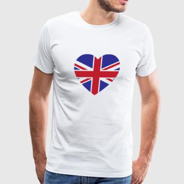 England Flag - Men's Premium T-Shirt