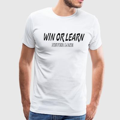 Win tee - Men's Premium T-Shirt