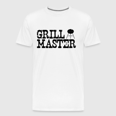 grill_master (charcoal grilling) - Men's Premium T-Shirt