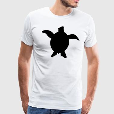 Sea Turtle - Black - Men's Premium T-Shirt
