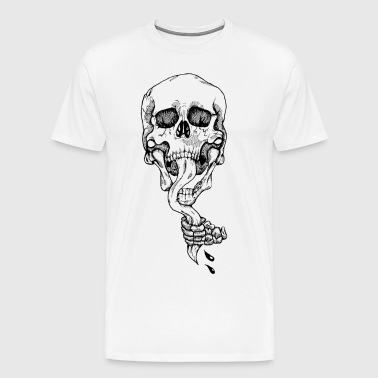 Rip It Out (Black) - Men's Premium T-Shirt