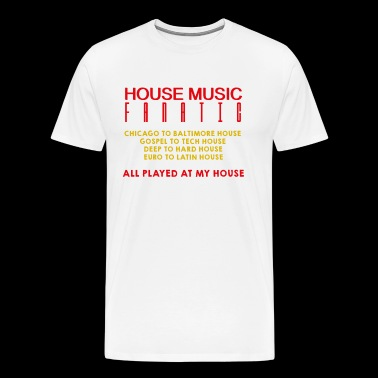 House music fanatic - Men's Premium T-Shirt