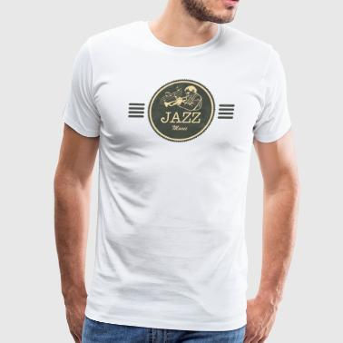 Jazz Music Gift for Jazz Fans - Men's Premium T-Shirt